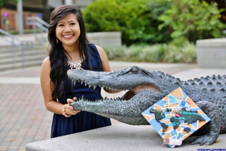 While at UF, Nguyen was a student leader and among the top scholars in the business college.