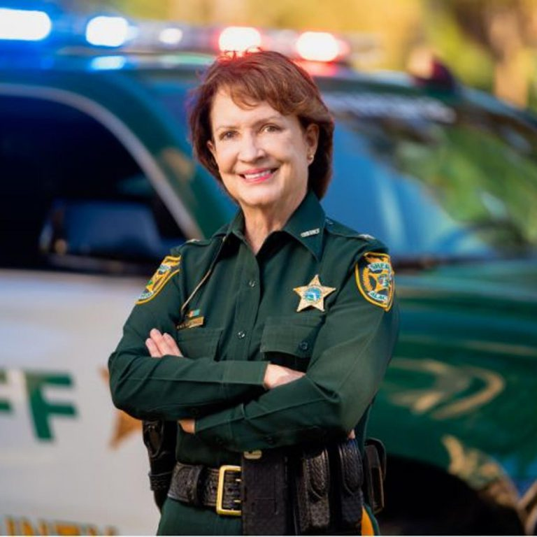 Lt. Sadie Darnell had been the Gainesville Police Department's spokesperson for a year and a half when the student murders occurred in August 1990, foisting her into the national spotlight. Since 2006, Darnell has served as Alachua County Sheriff.