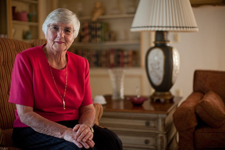 Dr. Jean Bennett is among the few women who graduated in the UF College of Medicine's first class in 1956. She has been credited with leading scores of her patients to pursue medicine as a career.