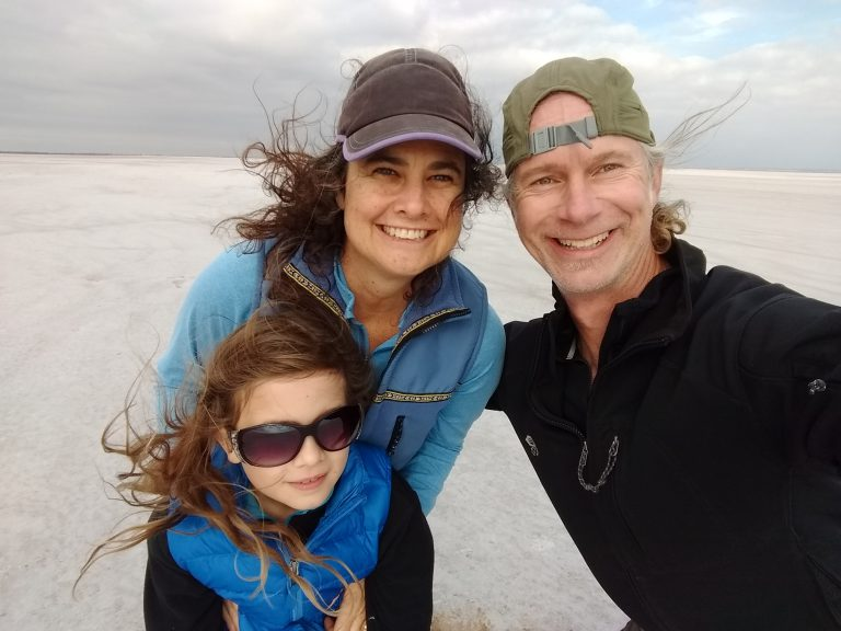 Project Remote is a family adventure. Skyla, now 11, Ryan and Rebecca's daughter, has been to all but two of the remote spots, such as this one in Oklahoma.