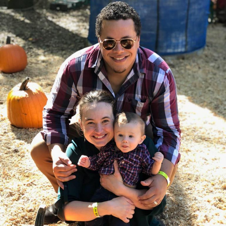 A favorite activity for Ruiz: spending time with his wife, Cortney, and their 2-year-old son, Luca.