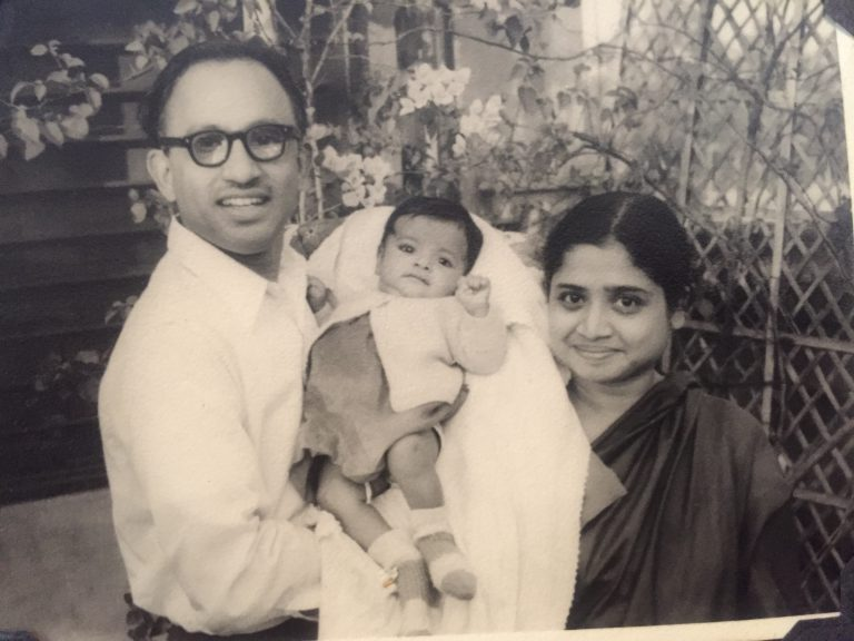 Basu was left on the steps of an orphanage in Kolkata, India, at 1 day old. She was adopted six days later by Debabrata and Kalyani Basu. Her father, a world-renowned statistician, taught for several years at FSU.