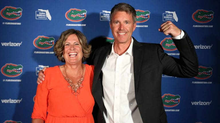 Since her first interview at UF, Burleigh and UF women's tennis head coach Roland Thornqvist have remained friends.