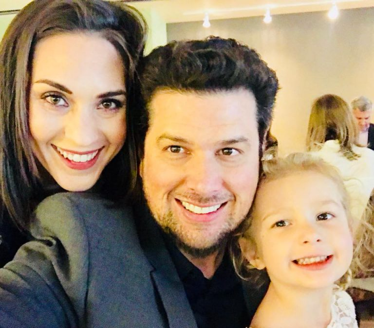 """Ashley Wellman met her late husband, Buddy Wellman, while she was earning her doctorate in criminology at UF; he was working for the UF Athletic Association. Their daughter, Reagan, was born in 2014. The family had just moved to Fort Worth, Texas, in August 2018, when Buddy suddenly died of a pulmonary embolism. """"His love for and faith in me inspired me to dream bigger, to fight for what I need and want in life, and to believe in myself,"""" Ashley says of Buddy."""